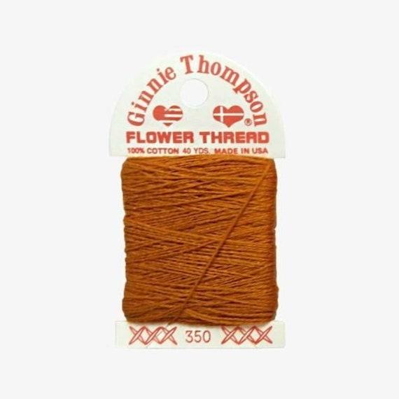 Ginnie Thompson Flower Thread - #350
