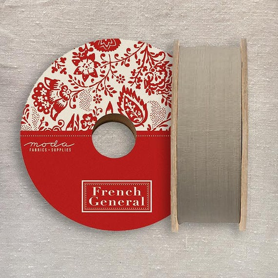 1.5 inch Twill Tape - French General - Roche 212012 - 1/2 yd