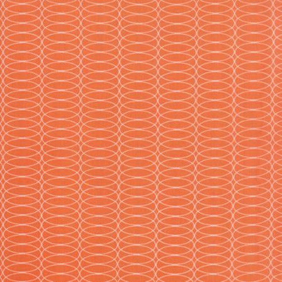 For You Circulating Orange - 1/2yd