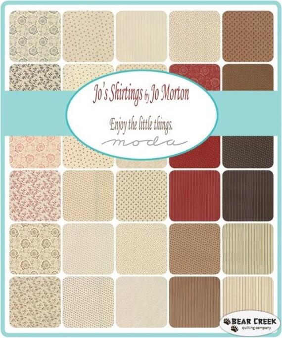 Jo's Shirtings by Jo Morton - Jelly Roll