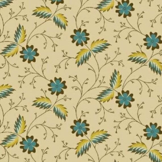 Enduring Legacy - Flower Teal Cream