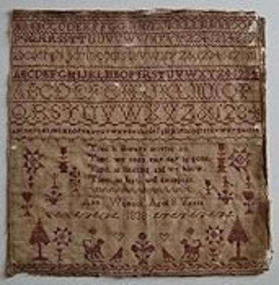 Ann Womack 1838 - Shakespeare's Peddler - Cross Stitch Chart