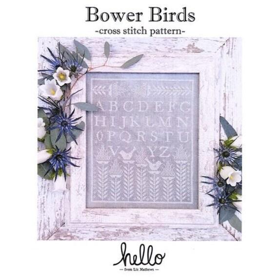 Bower Birds - Hello from Liz Matthews - Chart Only