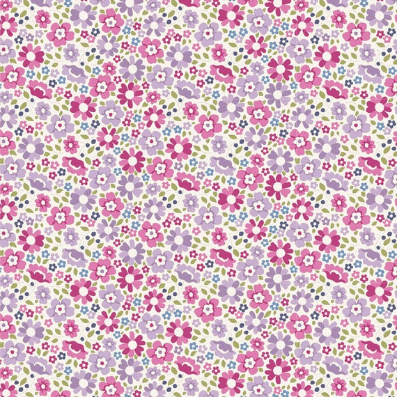 TILDA Woodland - Clara Plum 100288 - Fat Quarter