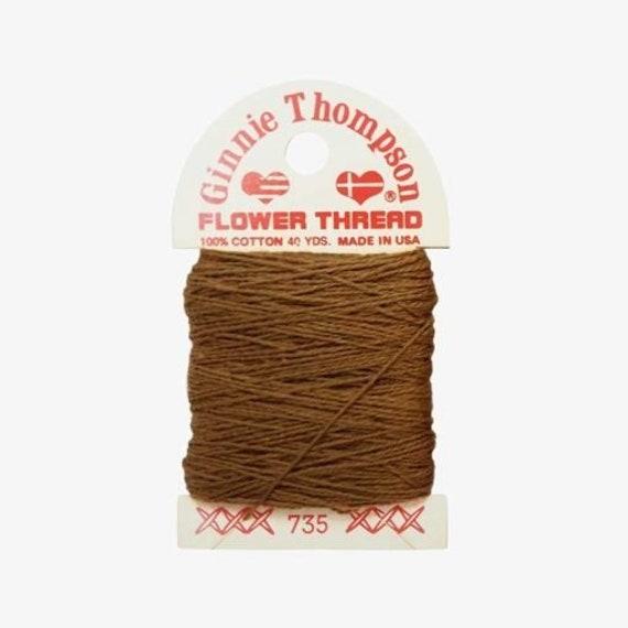 Ginnie Thompson Flower Thread - #735