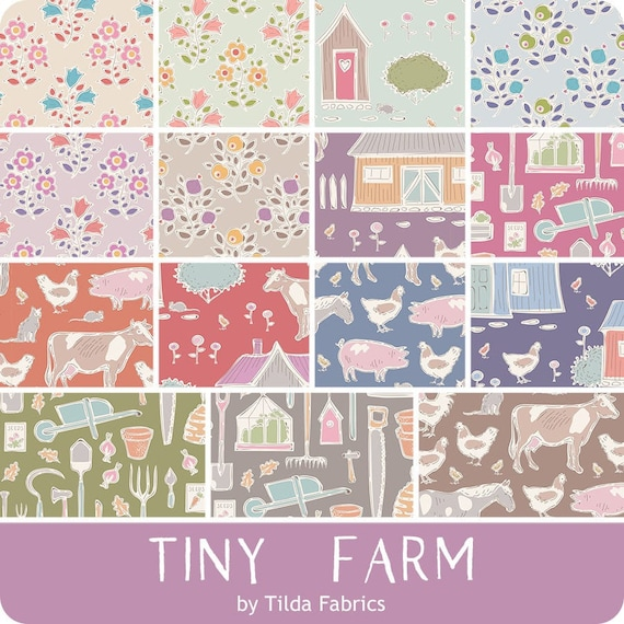 TILDA Tiny Farm -  15 x Fat Quarter Bundle