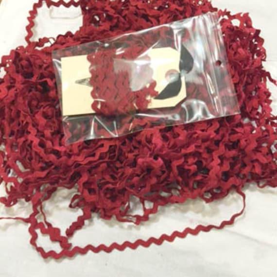 Rick Rack Trim by Lady Dot Creates - Sizzle - 3 yds