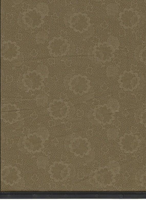 Dutch Heritage Tonal - Olive - 1/2yd