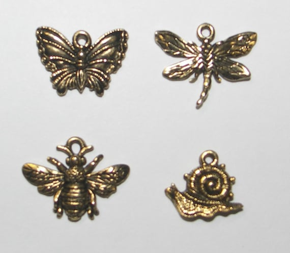 Insects Charm Pack - Rosewood Manor - Cross Stitch Chart