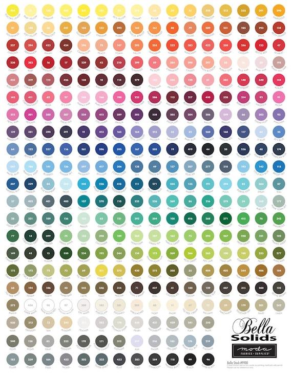 "My Favorite Color 9900 10P - Panel 36"" x 44"""