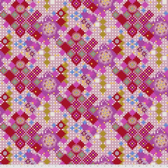 Love Always - Postage Due PWAH068 Candy - Anna Maria Horner - 1/2yd