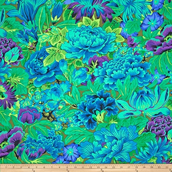 Kaffe Fassett Collective PWPJ064 Green - 1/2yd