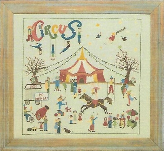 Circus - Sara Guermani - Cross Stitch Chart