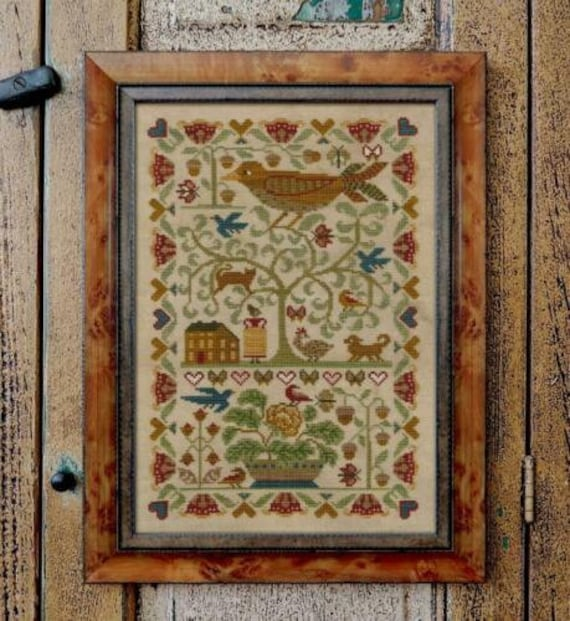 Oh My Bird - Teresa Kogut - Cross Stitch Chart
