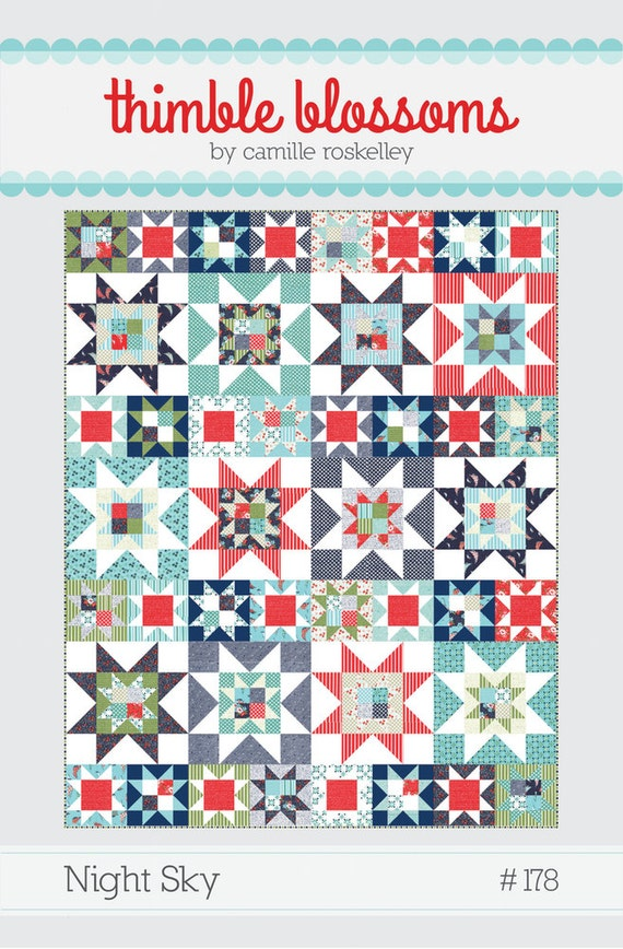 Night Sky by Thimble Blossoms - Quilt Pattern
