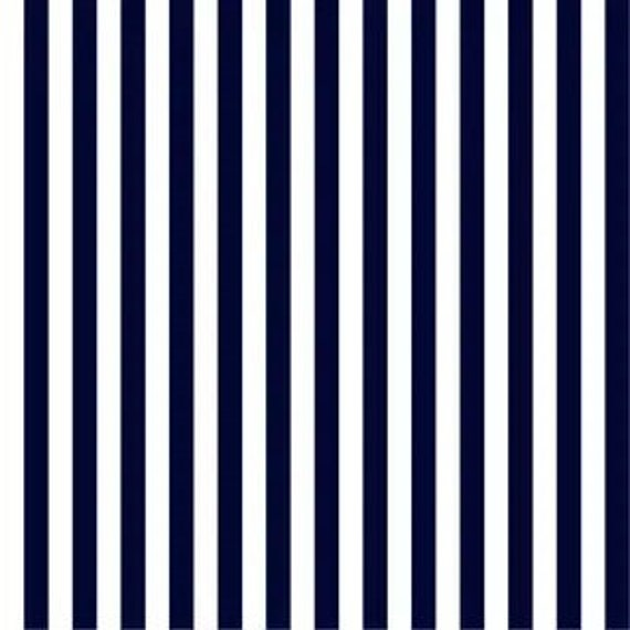 Staple Stripe Navy DS304 - 1/2 yard