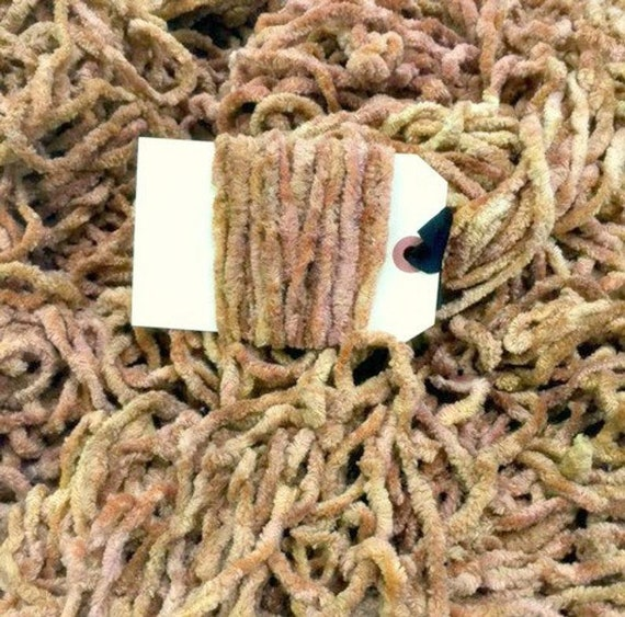 Chenille Trim by Lady Dot Creates - Toast - 3 yds