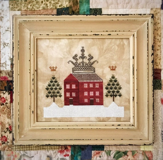 Crown House - Lucy Beam - Cross Stitch Chart