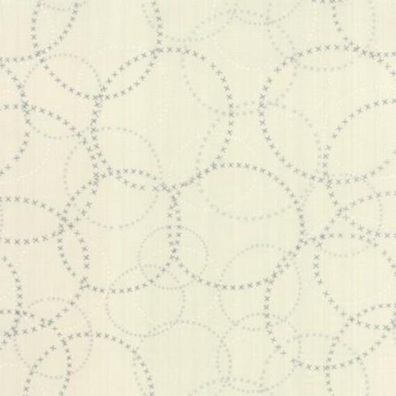 Modern BG Paper XOXO Eggshell - 1/2yd