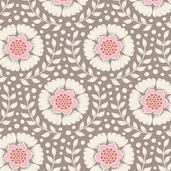 TILDA Maple Farm - Wheatflower Umber 100269 - Fat Quarter