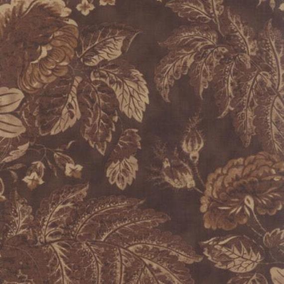 Eliza's Indigo Garden Hill Chocolate - 1/2yd