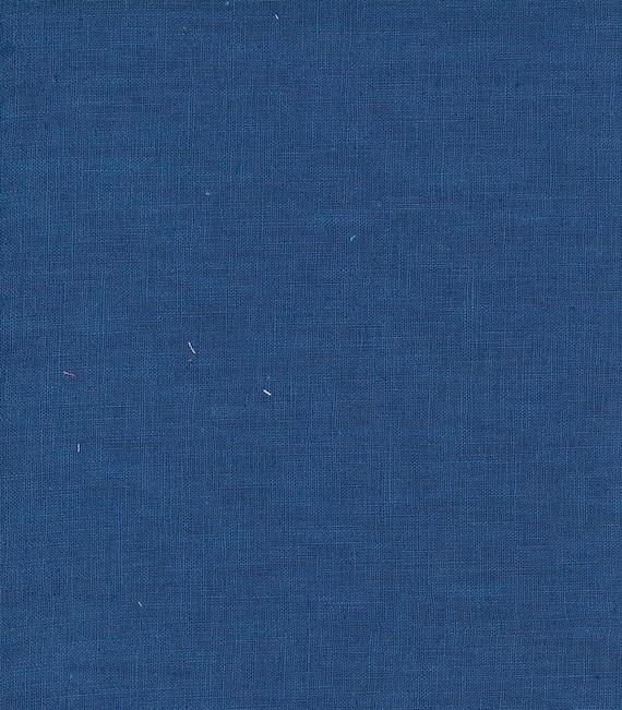 Hanky Linen - Denim - 56 inch x 1/2yd