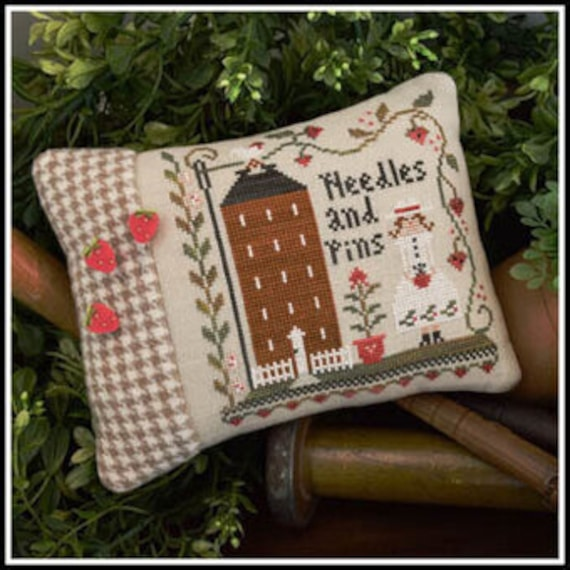 Keeper of the Pins - Little House Needleworks - Chart, Threads, 3 Pins