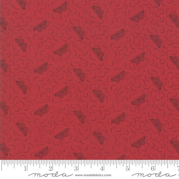 Le Beau Papillon - French General - 1386811 - 1/2yd