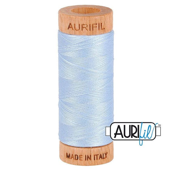 Aurifil 80wt -  Light Robin's Egg 2710