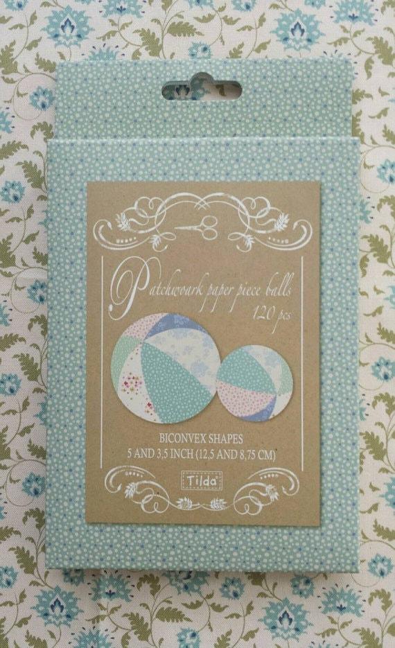 TILDA Paper Pieced Balls - 2 sizes - 120 pieces