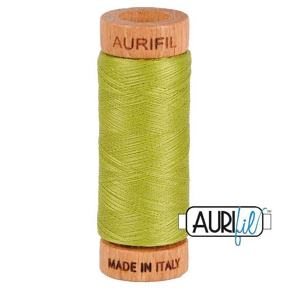 Aurifil 80wt - Lt Leaf Green 1147