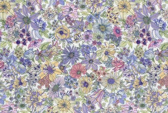 Lecien - Memoire a Paris Quilting Cotton - 82081410 - 1/2 yard
