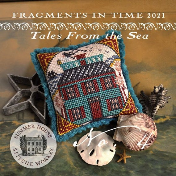 Fragments in Time 2021 No. 4 - Summer House Stitch Workes - Cross Stitch Chart