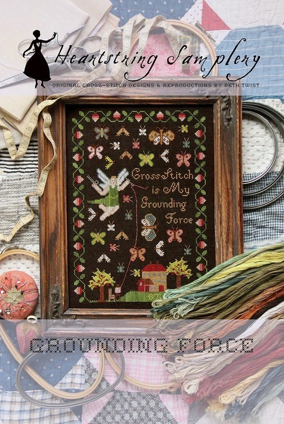 Grounding Force - Heartstring Samplery - Cross Stitch Chart