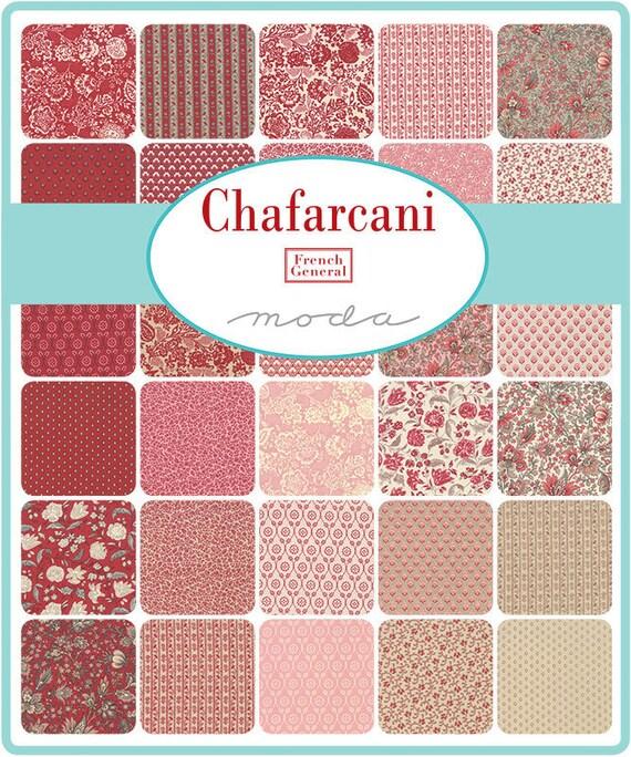 Chafarcani - French General - 40 x Fat Eighth Bundle