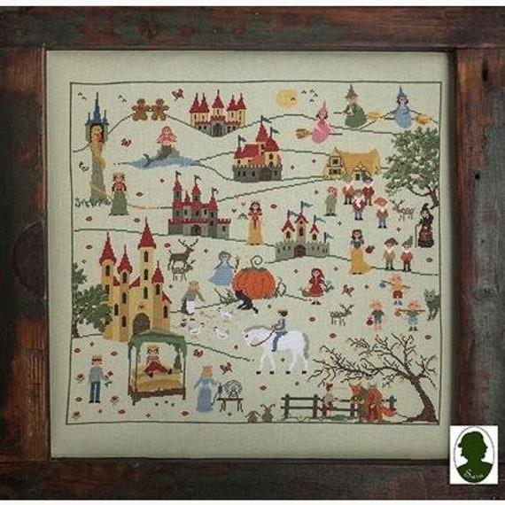 Fairy Tales (Favole) - Sara Guermani - Cross Stitch Chart