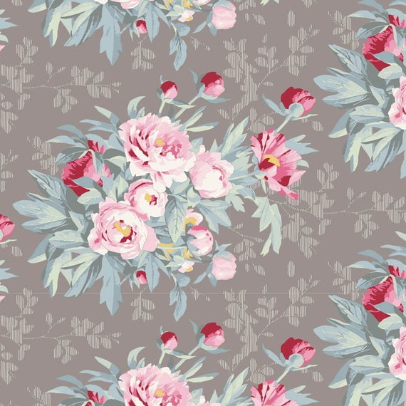TILDA Woodland - Hazel Grey 100292 - Fat Quarter