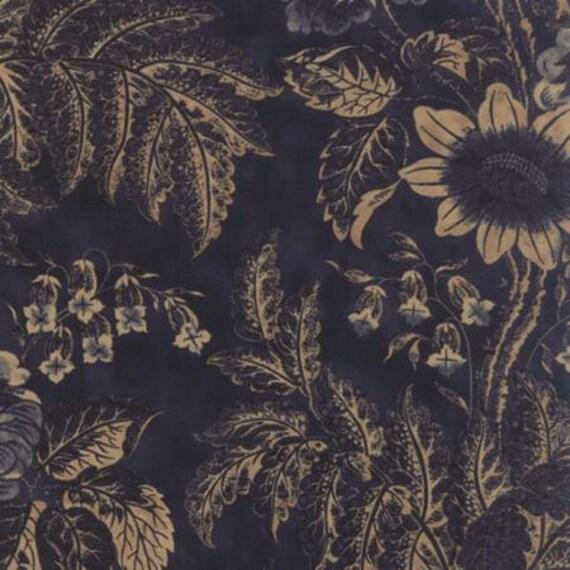 Eliza's Indigo Garden Hill Dark Blue - 1/2yd