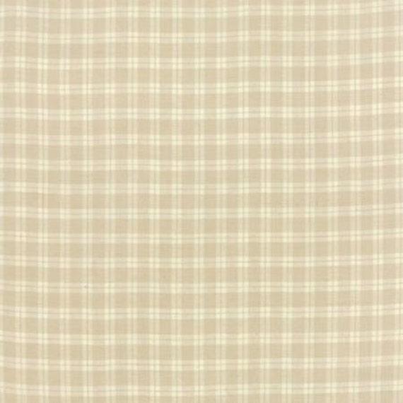 Petite Woven Silky Cotton Plaid Linen - 1/2yd