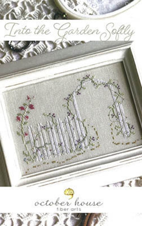 Into the Garden Softly - October House - Cross Stitch Chart