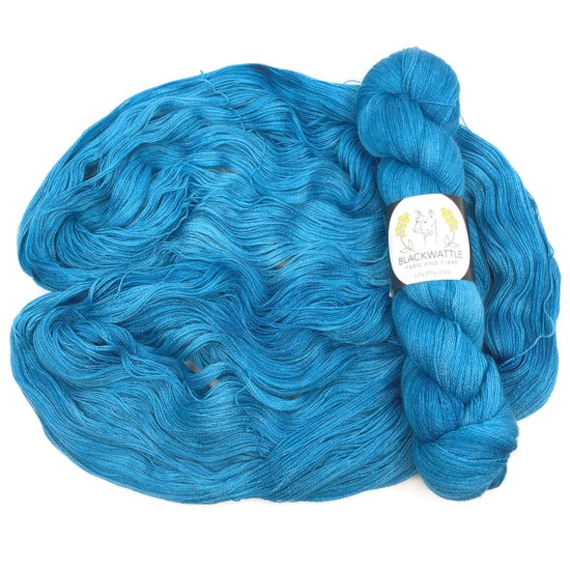 Blackwattle - Lilly Pilly 2ply Lace - Vivid
