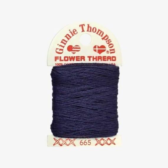Ginnie Thompson Flower Thread - #665