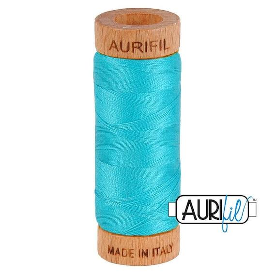Aurifil 80wt -  Turquoise 2810