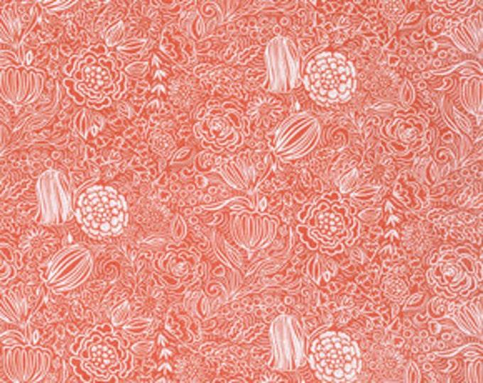 Sundara Oasis Kaiya Orange - 1/2yd