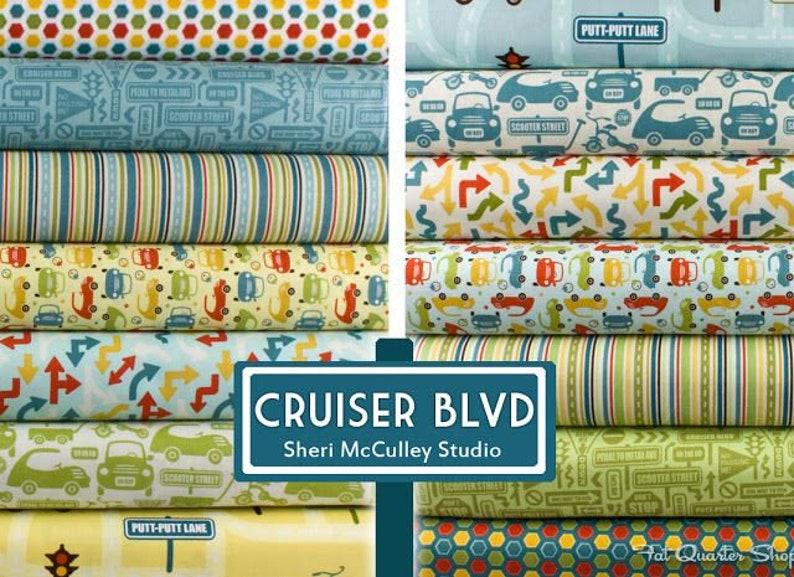 12 FQ Bundle Cruiser Boulevard by Sheri McCulley