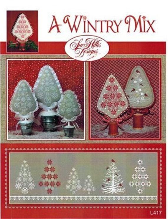 A Wintry Mix - Sue Hillis Designs - Cross Stitch Chart