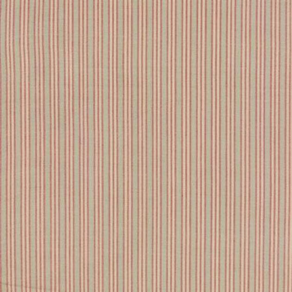 Petite Woven Silky Cotton Stripe Roche Rouge - 1/2yd