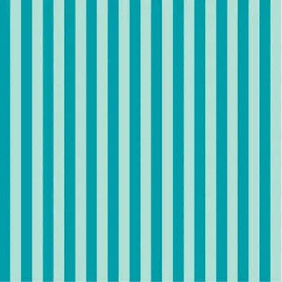 Staple Stripe Light/Mid Teal DS306 - 1/2 yard
