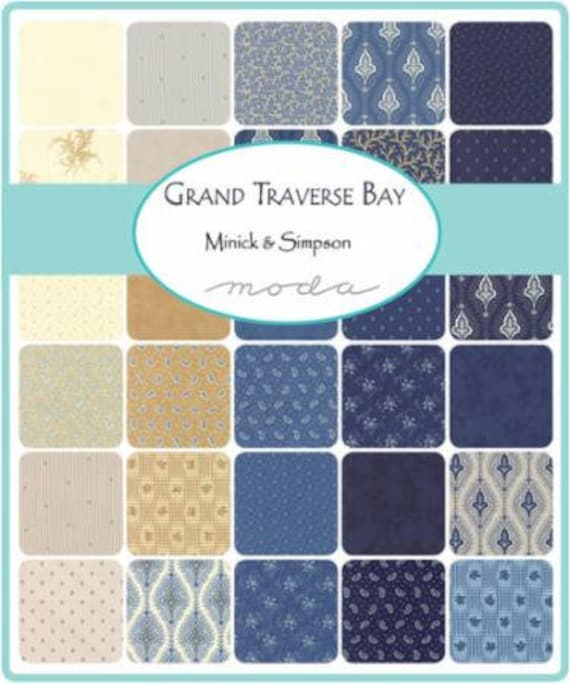 Grand Traverse Bay by Minick and Simpson - Mini Charms