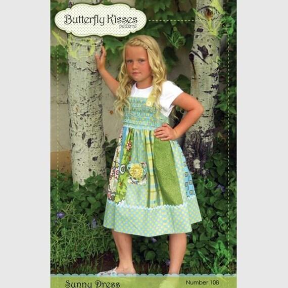 Sunny Dress - Girls Dress Pattern sizes 6mos-8yrs